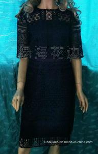女性服の服のための刺繍ファブリックレースファブリック