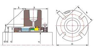 Flowserve Bx, металлический гофрированный сальник, уплотнения насоса