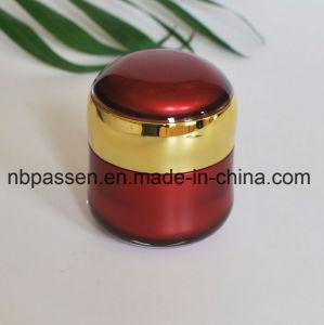 装飾的な包装のための50g赤いアクリルの瓶のアクリルの容器