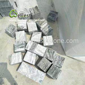 庭のテラスのパーキング・プレースPavingのための優雅なGrey Cobble Stone Cube Stone