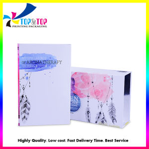 Caja de embalaje de papel de perfumes cosméticos de champú o cuadro de cajón