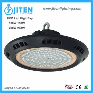 Nuevo Diseño Industrial de almacén de 150W LED de alta de la luz de la Bahía de OVNI
