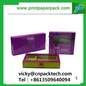 Cosmetic&SPAの包装のための耐久の包装のギフト包装ボックスハンドメイドの綿ボックスを包む習慣によって印刷されるボックス