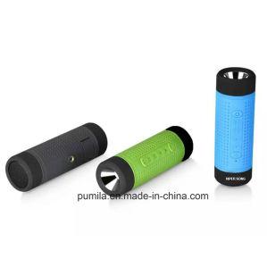 屋外の携帯用Bluetoothの自転車のスピーカー力バンクの防水スピーカー
