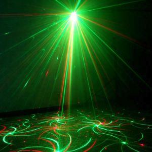Weihnachten-DJ-Disco-Stadiums-Projektor-Laserlicht