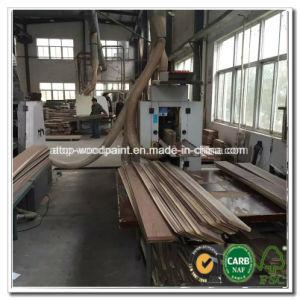 3層寄木細工の床のためのホワイトオークの床の薄板(鋸で挽かれたベニヤ)