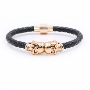 Hot Sale en acier avec bracelet en cuir mode Bijoux Bijoux