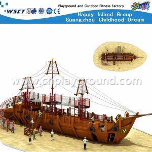 [أموسمنت برك] مزح ملعب لعب خشبيّة قرصان سفينة خارجيّة ملعب تجهيز لأنّ عمليّة بيع ([هف-16801])