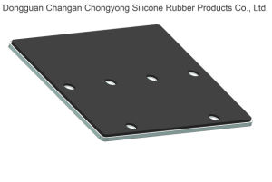 Wear-Resistant, 높은 반동, (SBR + 알루미늄 합금) 고무 진동 격판덮개