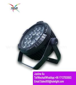 LED 18*10W 4in1は段階の同価ライトDJ党を防水する