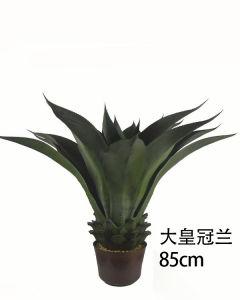 Crown Orchid Home decoração encantadora planta artificial
