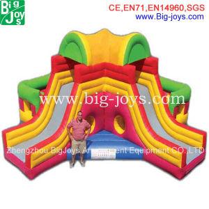 Combo de inflables comerciales Diapositiva Bouncer