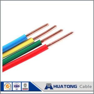 Ressalte condutores de cobre com isolamento de PVC o fio elétrico de cobre do fio