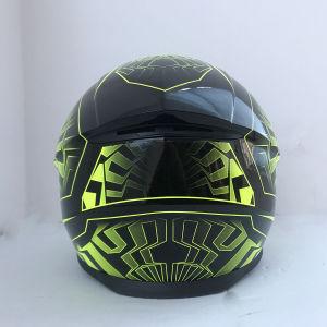 2019 Novo Estilo de capacete de motocicleta com certificação da ECE