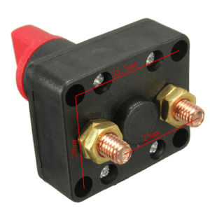Mestre de barco Desconecte o isolador rotativo 300A 60V interruptor da bateria