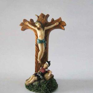 Estátuas de resina estátuas Religiosas de Design Personalizado