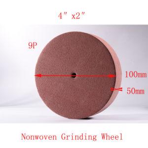 4  X2  9pの円研摩のナイロンナイロンディスクブラシの折り返しディスク