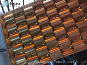 Gekleurd Berijpt/etst het Zuur/het Decoratieve Glas van de Kunst (A-TP)
