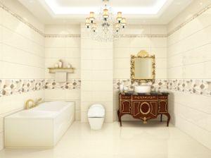 Verglaasde Ceramiektegel voor de Muur en de Vloer van de Badkamers