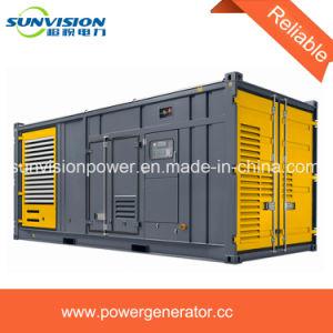1000kVA Groupe électrogène de puissance avec conteneur ISO, l'ensemble générateur