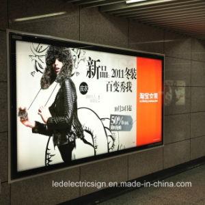 写真フレームのハングの額縁アクリルLED広告表記のライトボックス