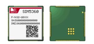Modulo SIM5360 di WCDMA/HSPA+