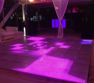 P30 video LED Dance Floor per gli eventi,