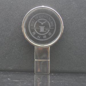 Раунда ключ USB Логотип светодиодный индикатор