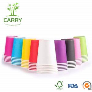 Patrón personalizado desechables vasos de papel (12oz.)