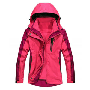 女性のスキー摩耗のアウトレット山の防水雪のジャケット