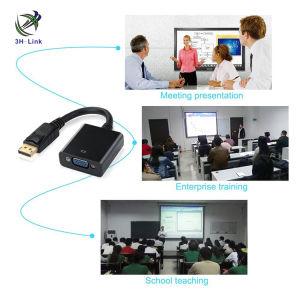 Displayport Mann zum VGA-weiblichen Kabel für PC Laptop MacBook