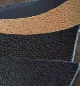 El rodillo sobre una tira de goma/ Rodillo de textiles que cubre la cubierta del rodillo de cintas de tela para máquinas de inspección