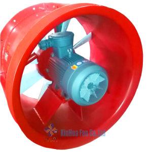 Fase 380/3/50Hz exaustor de ventilação de mineração para ventilação local