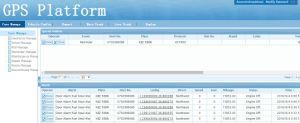 Leistungsfähiges GPS Gleichlauf-System mit Server-Miete-Service