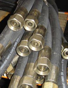 Tubo flessibile idraulico ad alta pressione del metallo