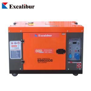 100% de cobre o Alternador 10kVA 8KW super silencioso geradores a diesel