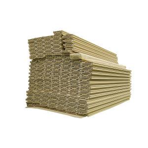 Blocco per grafici di finestra largo composito di plastica di legno del portello di WPC