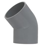 Garnitures de pression de PVC avec le joint dissolvant PN10
