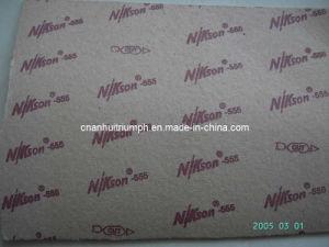 Placa de papel + Placas de espuma de látex Material da sapata revestida Laminado