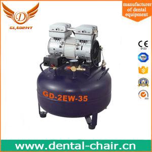 Compressor de ar isento de óleo/ar Dentária Compresressor/silencioso da Bomba do Compressor de Ar