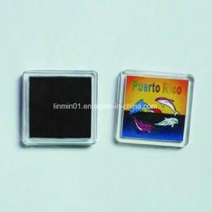 Souvenir personnalisé Fridge Magnet pour cadeau de promotion en plastique