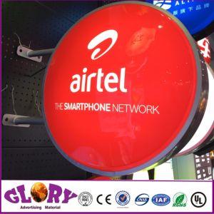 Airtel quadratischer heller Kasten der Kasten-Fuss-LED für das Bekanntmachen der Bildschirmanzeige