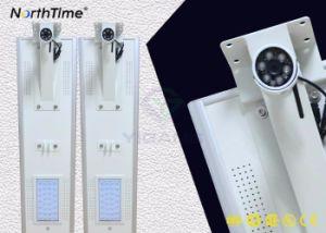 30W電話制御360カメラが付いている統合された太陽街灯