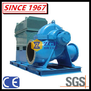 Pompa centrifuga di alta efficienza del duplex dell'acciaio inossidabile di doppia aspirazione di spaccatura della cassa Volute assiale orizzontale e verticale dell'intelaiatura, pompa industriale