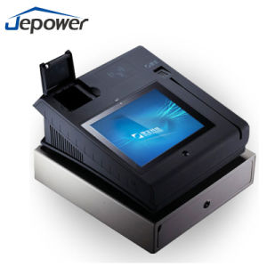 Télévirement GSM/GPRS/Etherent NFC Lecteur de carte de crédit POS Terminal T508A (Q)