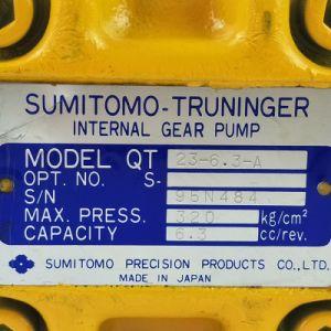 Sumitomo bajo ruido y la bomba de engranajes de alta velocidad Qt23-6,3
