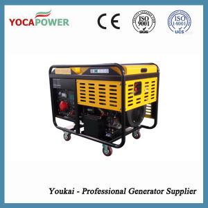 10 ква дизельный двигатель с водяным охлаждением воздуха электрической мощности генераторной установки