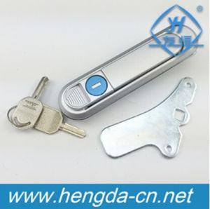 Painel da porta do painel de controle elétrico trava com chave (MS732)