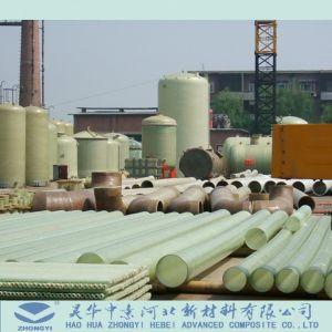 Afvalwater en de Chemische Industrie Gebruikte Pijp van de Glasvezel FRP GRP