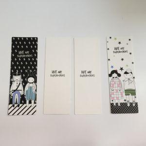 Venda por grosso de papel personalizado Impressão Promocional Finos Marcador